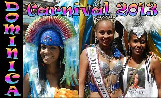 Carnival 2013 Roseau parades - click image to watch video