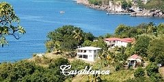 Casablanca Dominica - an affordable private oceanfront villa, mid west coast