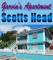 Garvin's Apartment, SW Dominica - US$50 single US$60 double