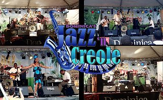 Dominica's Jazz 'n Creole live music event ar Fort Shirley, Cabrits National Park